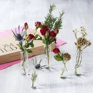 Posy Party Letterbox Flowers - valentine's gifts for her