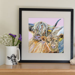 Personalised Mothers' Day Print - animals & wildlife