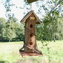 Forest Cottage Garden Hanging Bird House