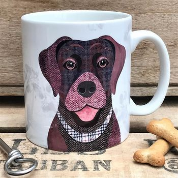 Brown Labrador Dog Mug