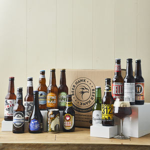 14 Award Winning Beers Of The World And Glass - gifts for him