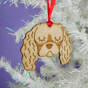Cavalier King Charles Spaniel Christmas Decoration