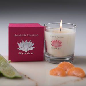 Go Light Up The World Meditation Candle - home accessories