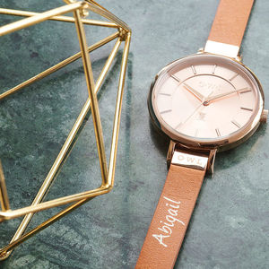 Mayfair Ladies Watch - personalised jewellery