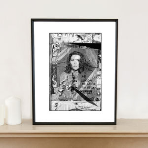 Emma Peel, Avengers, Barcelona Art Print - photography & portraits