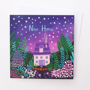 A Magical 'New Home' Card
