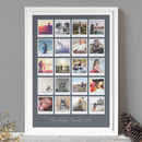 Personalised Retro 20 Photo Album Print