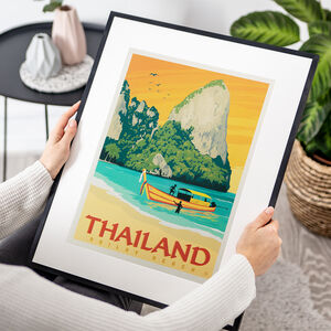 Thailand Travel Print