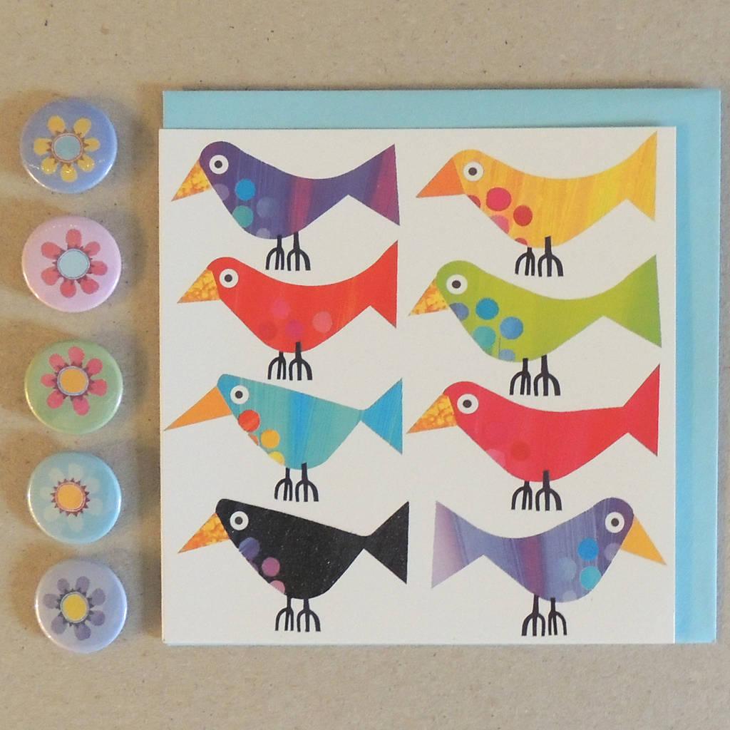 Long Birds Card
