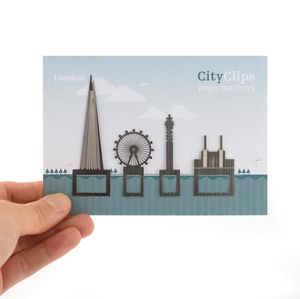 City Skyline Bookmarks - books