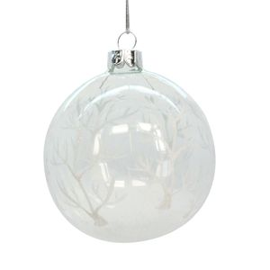Clear Forest Christmas Bauble