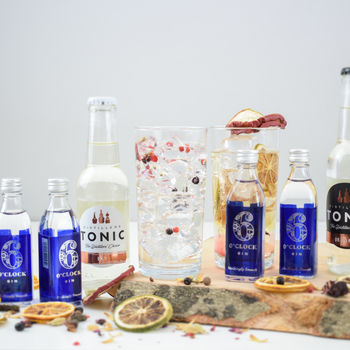 Six O'clock English Gin And Tonic Set