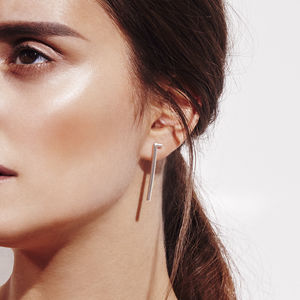 Intersection Drop Earrings - earrings