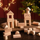 Personalised Christmas Wooden Blocks
