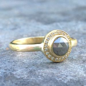 Engagement Ring Bespoke - precious gemstones