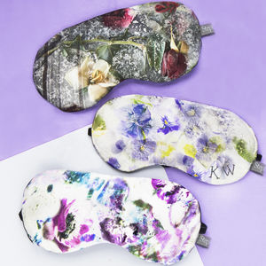 Silk Eye Mask With Lavender - women's fashion
