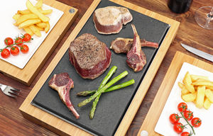 The Steak Stones Sharing Steak Plate And Server Sets - tableware