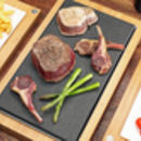 The Steak Stones Sharing Steak Plate And Server Sets