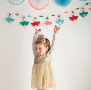 'The Nutcracker' Festive Paper Garland - garlands & bunting