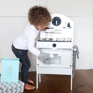 Personalised Monochrome Kitchen - traditional toys & games