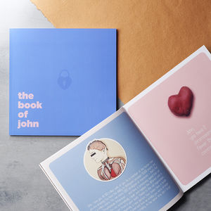 The Book Of Everyone Romantic Edition - gifts for couples