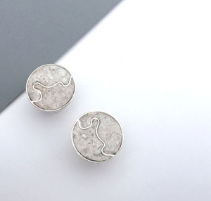 'Receipt Marble' Sterling Silver Cufflinks - whats new
