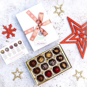 Limited Edition Christmas Vegan Chocolate Gift Box