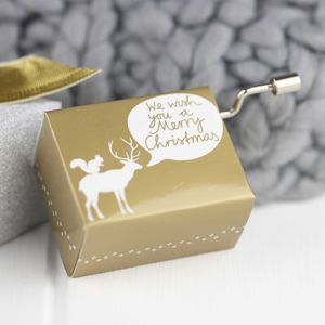 Magical Christmas Musical Box - christmas home