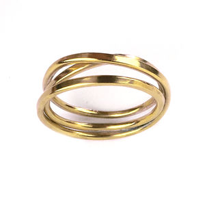 Handmade Yellow Gold Cosmic Wedding Ring