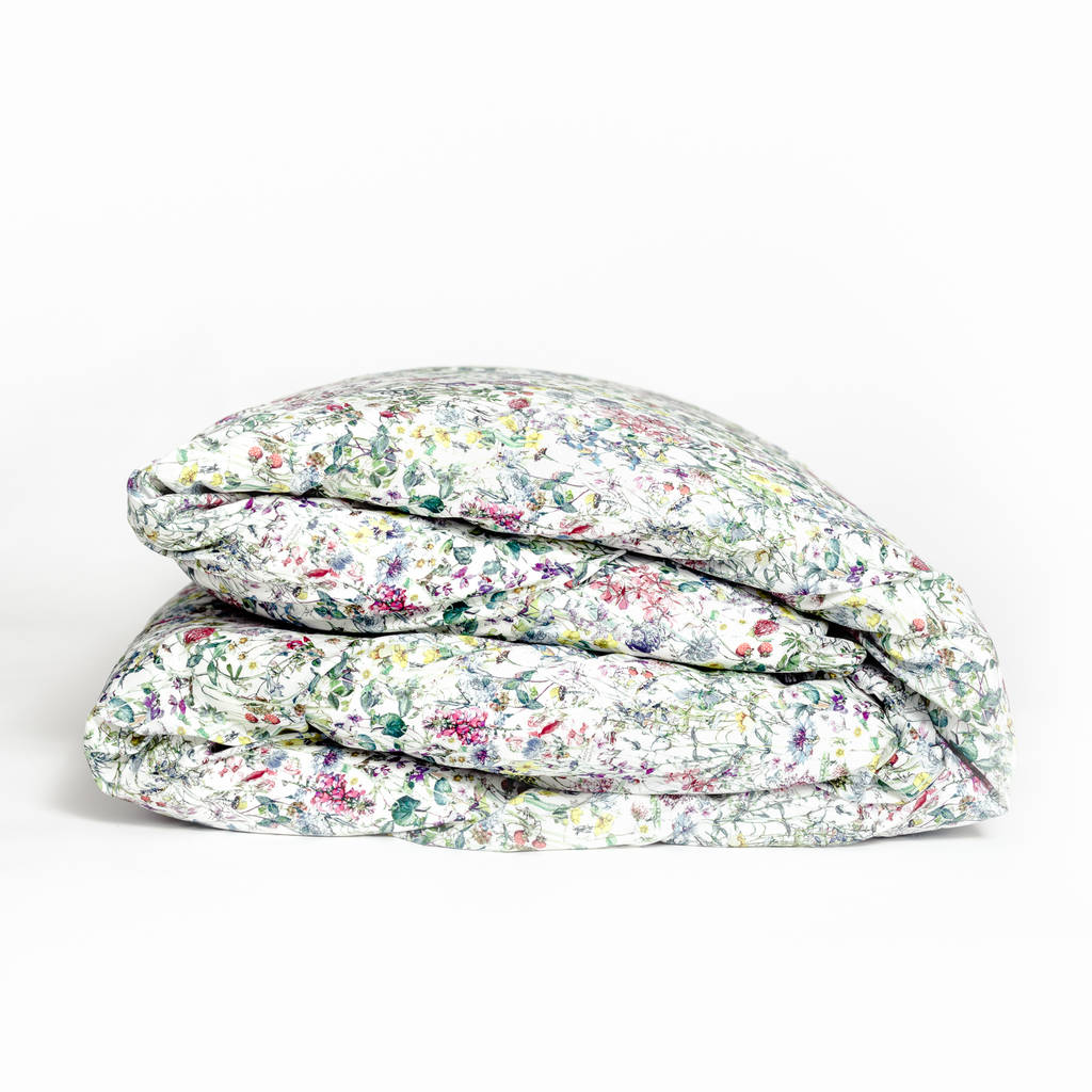 Liberty Print Duvet Set In Wild Flowers