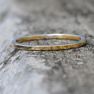 9ct Yellow Gold Slim Wedding Ring - new in wedding styling