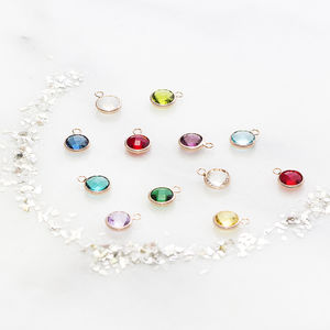 Add On Swarovski Birthstone For Personalised Jewellery - personalised jewellery
