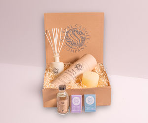 St Eval Bay And Rosemary And Lavender Hamper - mindfulness