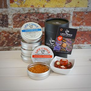 Gourmet Spices Five Tin Collection, Choose Five Tins - foodie