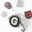 Personalised Silver Mini Pouch
