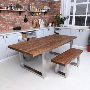 Dixon U Shaped Legs Dining Table - dining tables