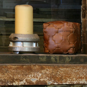 Reclaimed Leather Doorstop - door stops & draught excluders