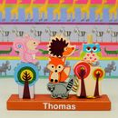 Woodland Animal Stacking Game