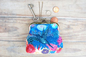 Isla Silk Purse - purses & wallets