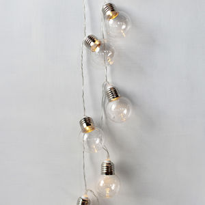 Round Bulb Fairy Lights - new in