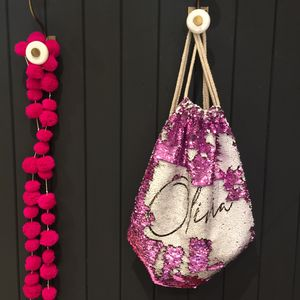 Personalised 'Name' Sequin Bag