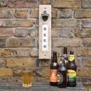 Upcycled Magnetic Bottle Opener