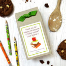 Thank You Teacher Gift Choc Chip Cookie Mix | Apple