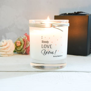 I Love You Scented Candle - candles & home fragrance