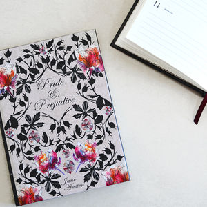 Hardback Book Journal And Notebook Pride And Prejudice - 2017 & 2018 diaries