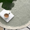 Crochet Your Own Circular Wool Rug Kit