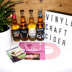 Vinyl And Craft Cider Discovery Box