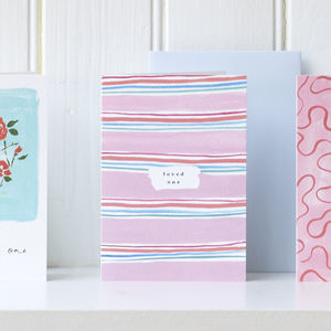 Loved One Stripe Card