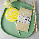Pina Colada Lollipop And Rum Chocolate Slabb Gift Set