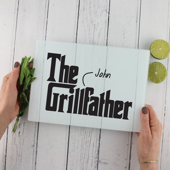 Personalised Grillfather Chopping Board